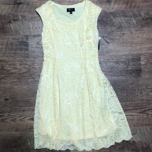 Yellow Lace Dress! Brand New!